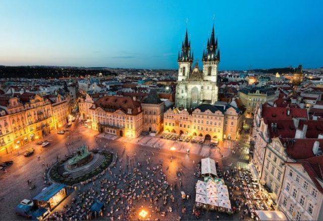 Praça da Cidade Velha, Praga, República Checa