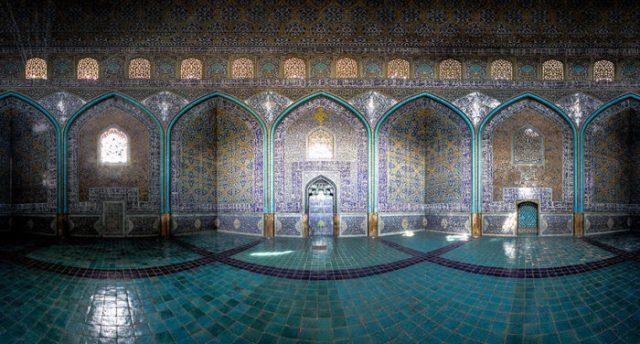 A incrível beleza das Mesquitas do Irão em fotos raras ©Mohammad Domiri