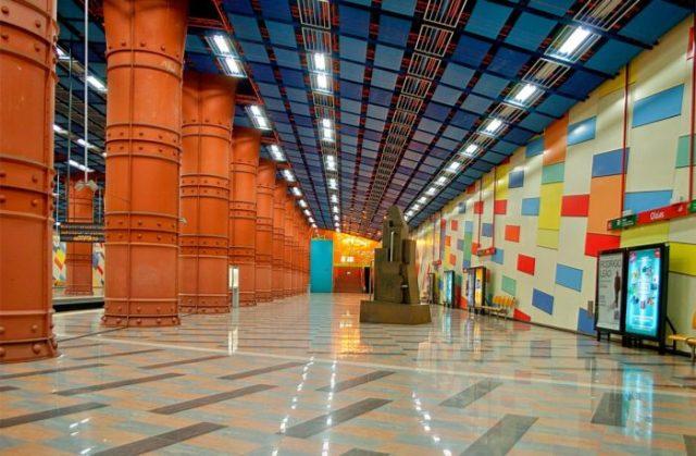 13 Estação das Olaias, Lisboa, Portugal - © City Guide Lisbon