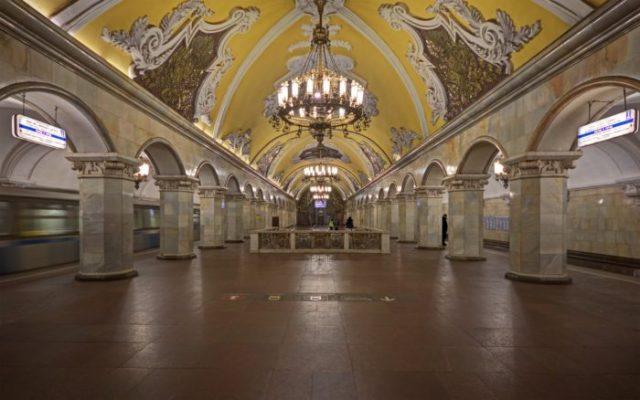 18 Estação de Comsomolhskaia, Moscovo, Rússia - © A.Savin