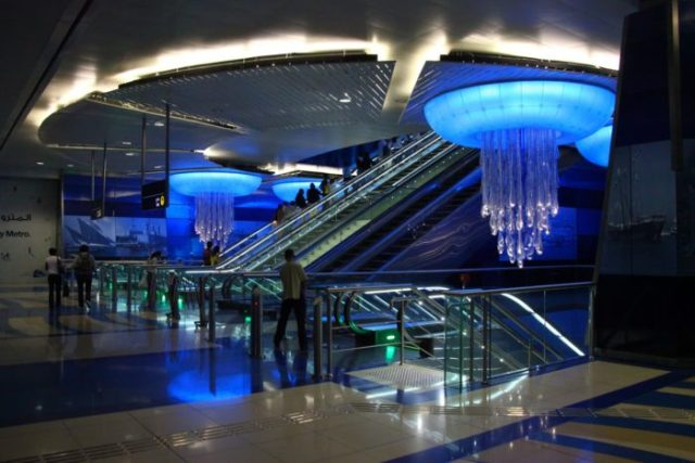 19 Estação de Khalid bin al-Waleed, Dubai, Emirados Árabes Unidos - © Mapio