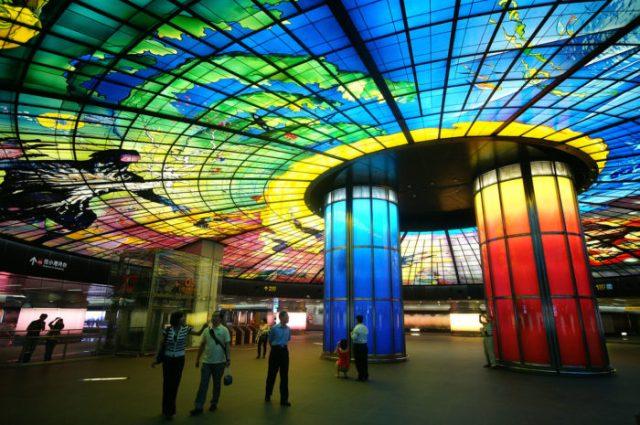 Estação de Formosa Boulevard, Kaohsiung, Taiwan - © Wikimedia Commons