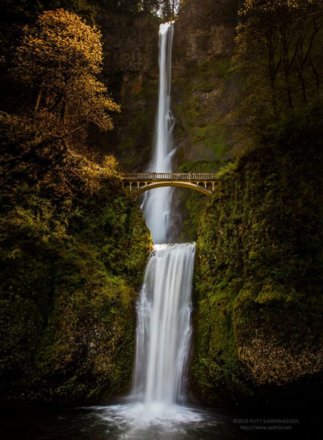 Cascata Multnomah, Oregon, EUA