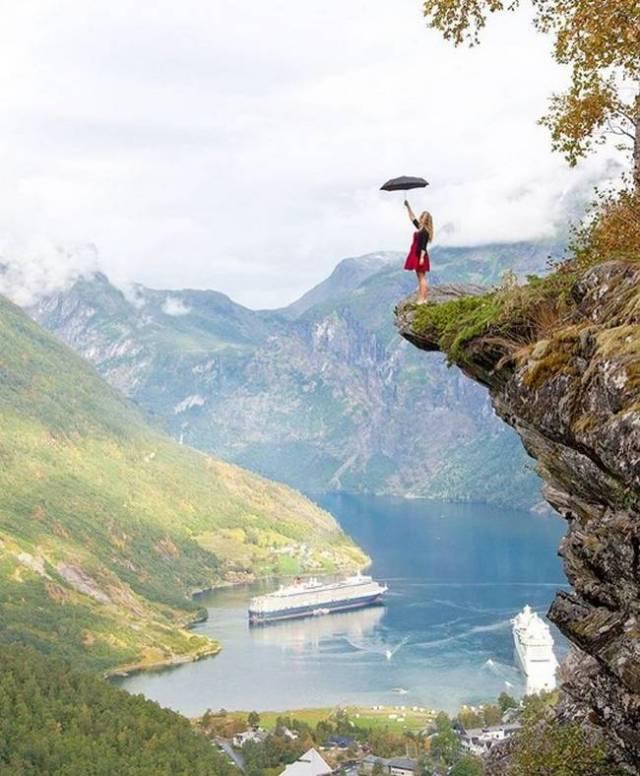O Fiorde de Geiranger – Noruega