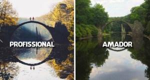 22 Fotos mostram a diferença entre Amador e Profissional