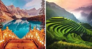 25 Lugares fantásticos para visitar uma vez na vida