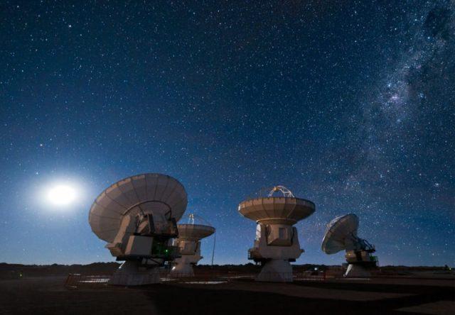 72 sinais extraterrestres detetados pelos cientistas do SETI - ©Syfy