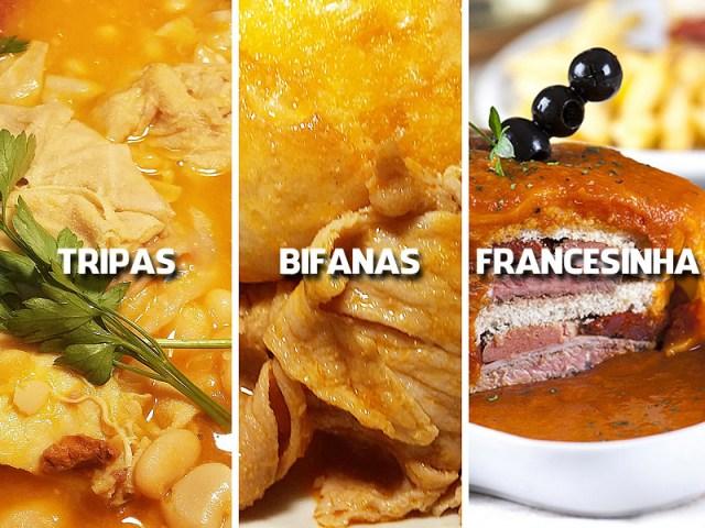 Aprenda a fazer 3 pratos típicos do Porto