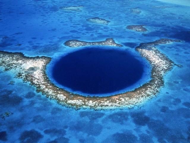 Buraco Azul, Belize - © gigantesdomundo