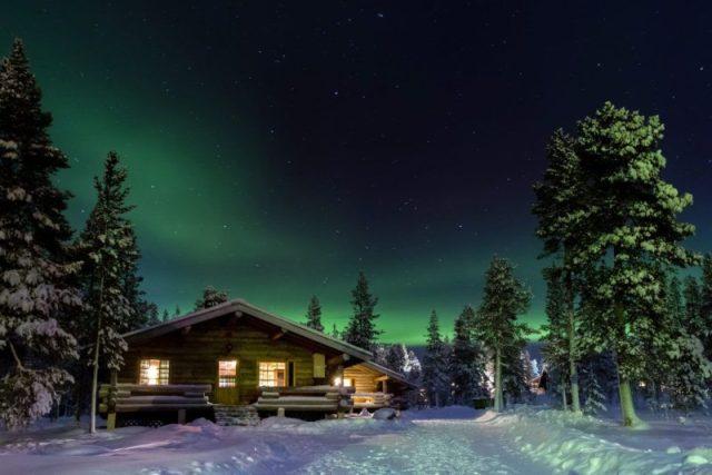 As luzes do norte, Finlândia
