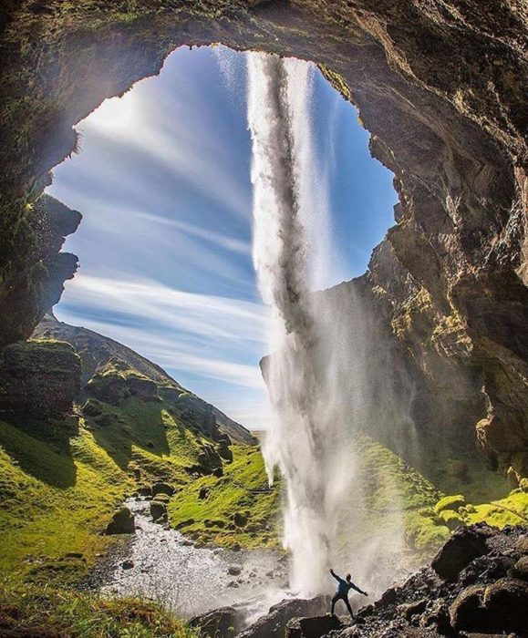 Kvernufoss, Islândia