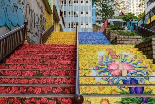 É portuguesa uma das 21 escadarias incrivelmente artísticas