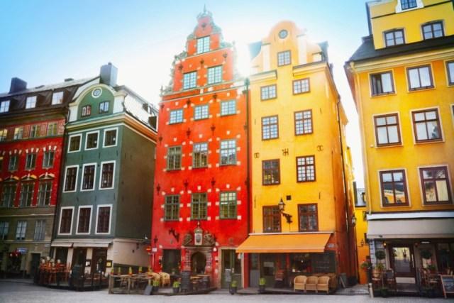 Stortorget em Estocolmo, Suécia