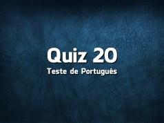 Quiz da Língua Portuguesa «20»