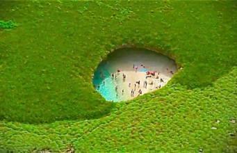 praias únicas