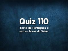 Quiz da Língua Portuguesa «110»