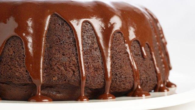 Bolo de Chocolate simples e fofo