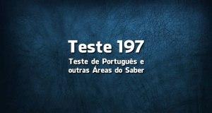Quiz ou Teste de Português 197