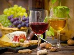 diferenças entre Vinho Tinto e branco