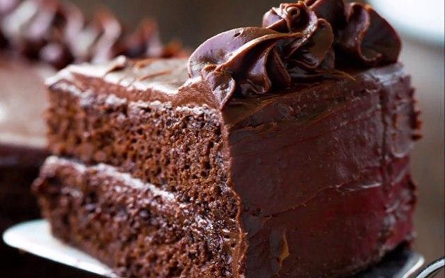 bolo de chocolate da avó