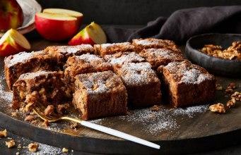 receitas de bolo de maçã e chocolate