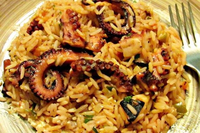arroz no forno