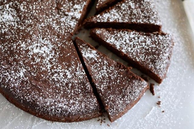 bolo de chocolate light