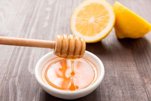 mel com limão