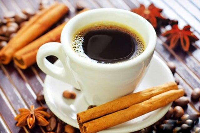 benefícios do café e da canela