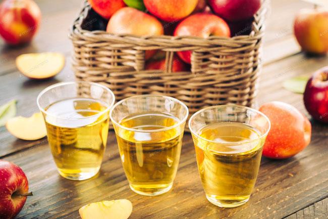 Beba vinagre de maçã