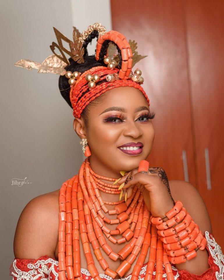 bridal makeup for igbo trad wedding