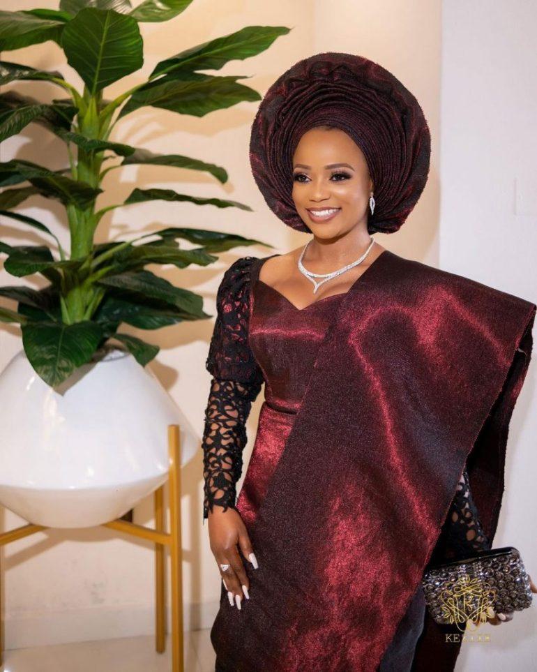 bridal makeup for yoruba trad wedding