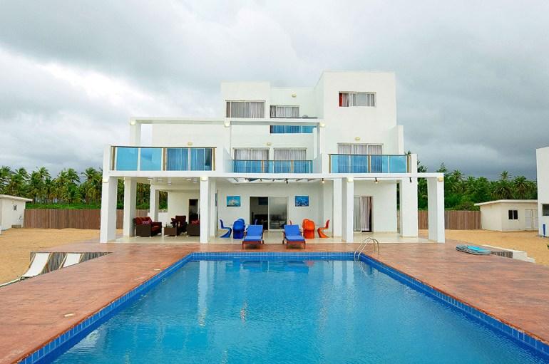 Honeymoon destination villa