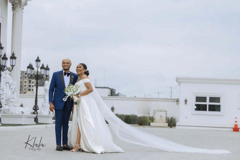 white wedding feature