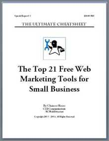 Top 21 Free Web Marketing Tools for Small Business Cover