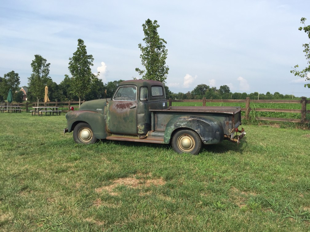 The Old Truck at Junius Lindsay
