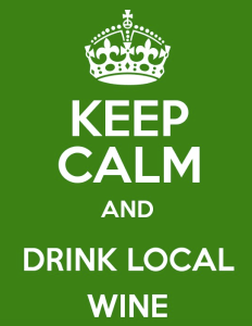 Drink Local Wine!