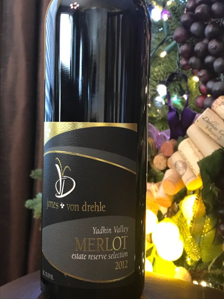 Reserve Merlot from Jones von Drehle in Thurmond