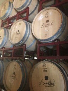 Barrel Room at Burntshirt