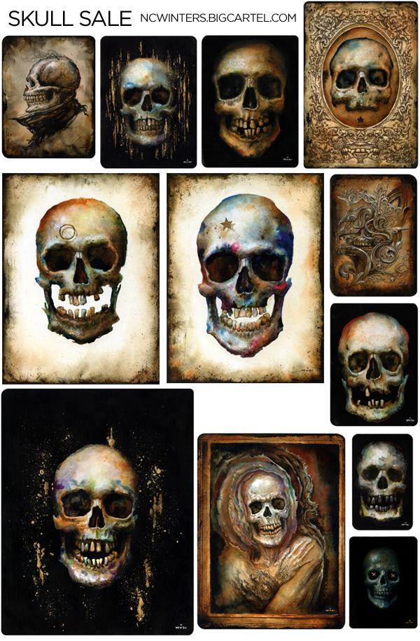 Skulls In Explorations Form Texture And Color I Focused On The Skull As Inspiration These Were Extremely Satisfying To Make