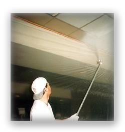 coating acoustical ceilings is not