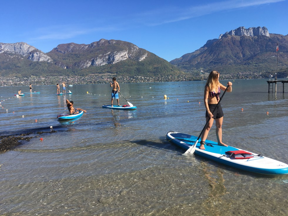 paddle annecy automne