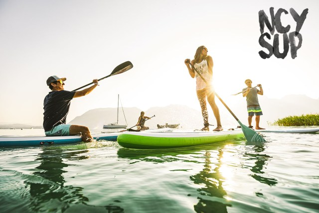 NCY SUP Paddle center lac d'Annecy
