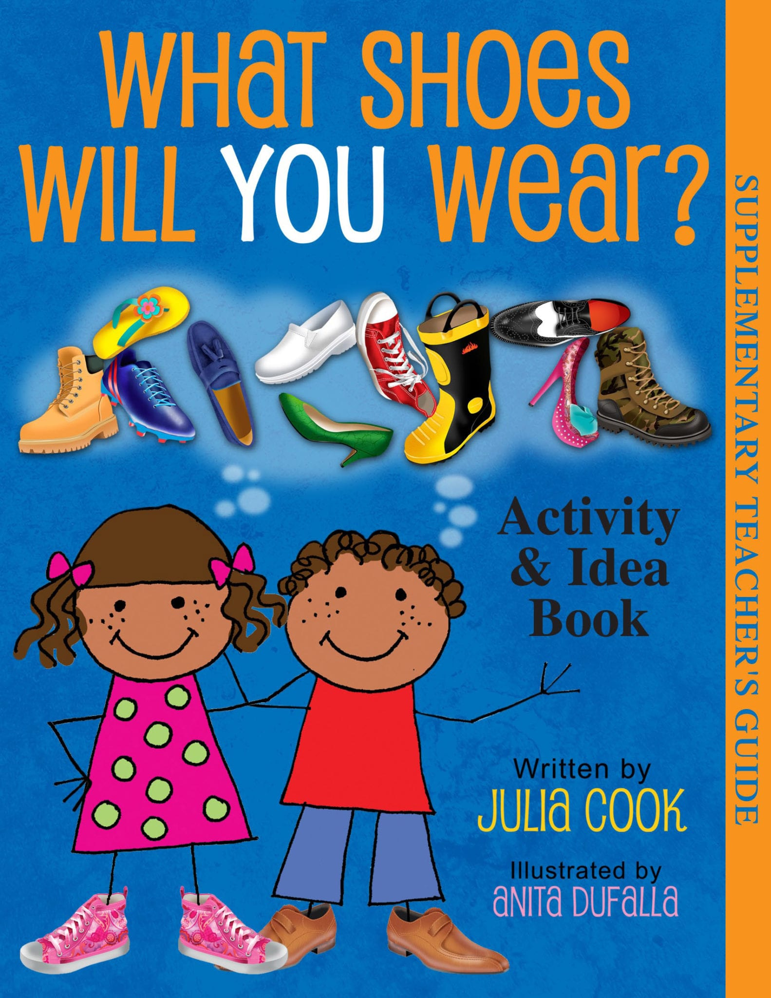 What Shoes Will You Wear Activity Book B488 Cover Front