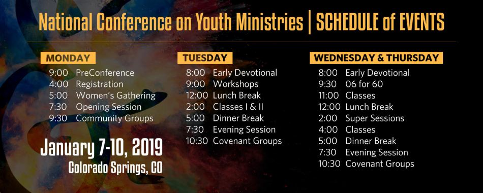 NCYM Sched 2019