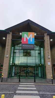 Shop Front Sign For Monaghan Shopping Centre