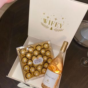 Personalised gift boxes.