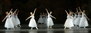 ND Ballet school students performing classical ballet shopinyana at Varna Opera Theatre 2017