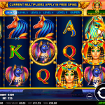 Queen of Gold slot 60 free spins-Thebes Casino AU