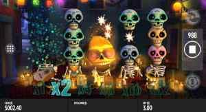 Esqueleto Explosivo slot 20 free spins